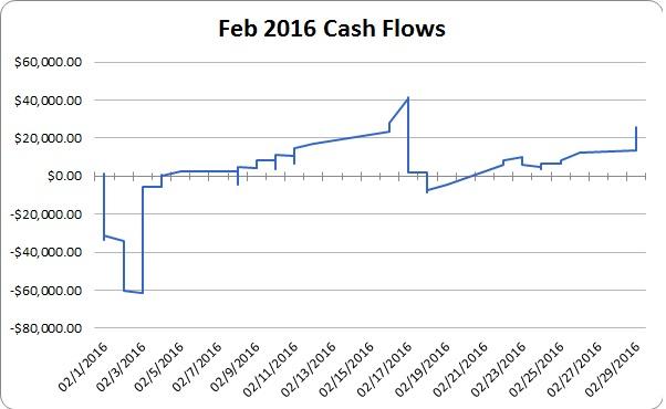 daily cash flow ex